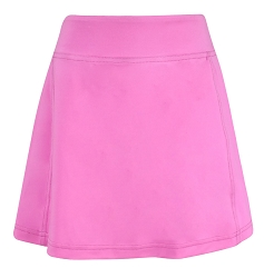 Krissy Golf and Tennis Skort w/Back Pleats Solid Pink